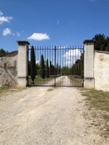 23. Gated mas more and more in vogue for protection.
