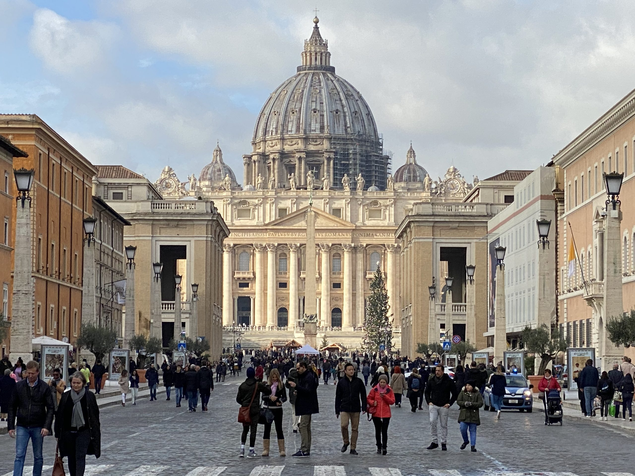 December at St. Peter's Basilica, Rome